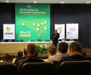 Unesc recebe maior Encontro de Economia Catarinense