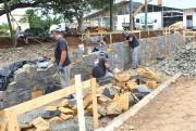 Obra de revitalização da praça São João Batista começa a ganhar forma