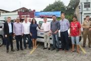 Nova Veneza recebe ambulância e terá capela mortuária em São Bento Alto