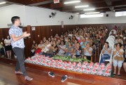 Profissionais dos CEI's da Afasc participam de palestra de abertura de ano letivo