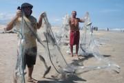 Pescaria rende uma tonelada em Balneário Rincão