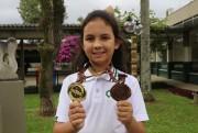 Aluna da Satc conquista medalhas de ouro e bronze na Olesc