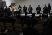 Torcida se reúne com comissão técnica e atletas do Criciúma