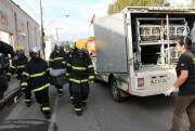 Incêndio causa morte de motorista da Loja De Lucca