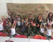 Escola Jorge Bif recebe visita da Famsid para tarde de brincadeiras