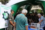 Cursos da Unesc realizam ações na Praça Nereu Ramos