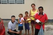 Amor e Ação realizou entrega de doações arrecadadas pelo Residencial Torres de Monet