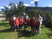 """Escolas particulares também participam do projeto """"plantar e cuidar"""""""