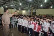 Proerd faz cerimônia de formatura em Balneário Rincão