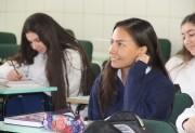 Estudante mexicana agora é aluna da Escola Barriga Verde