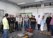 Iparque Unesc recebe visita de representantes do CREA-SC