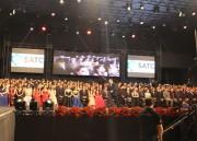 Famílias se reúnem para celebrar conquistas com formatura do Colégio Satc