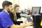 Intercambista croata participa de pesquisa na Satc
