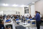 Cidadãos discutem o sistema de transporte coletivo de Içara
