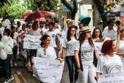 Caminhada pela Saúde Mental percorre o centro de Içara