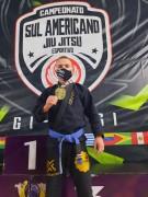 Lutador joinvilense consagra-se Campeão Sul-Americano de Jiu-Jitsu