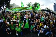 Mobilização cresce diariamente e segue time Bolsonaro pelas ruas