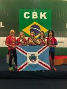 Caratecas de Içara batem recorde de medalhas no Ceará