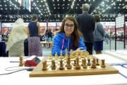 Kathiê conquista segunda vitória na Olimpíada em Baku