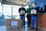"""Librelato Implementos doa mil cestas básicas para a campanha """"Juntos de Coração"""""""