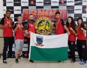 Urussanguenses garantem medalhas em torneio internacional de Karatê