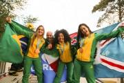 Comitê Olimpíco Brasileiro presta homenagem para karatecas içarenses