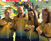 Karatecas içarenses retornam ao Brasil com oito medalhas