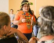 Índia Kerexu e a cultura da tribo Guarani em Içara