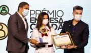Librelato é homenageada durante a cerimônia de premiação do Empresa Cidadã da ADVB/SC