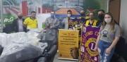 Lions Clube da Divisão D1 promovem a doação de EPI's em Criciúma