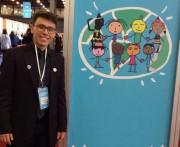 Aluno da Unesc representa o Brasil em conferência internacional