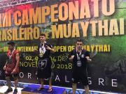 Urussanguense conquista vaga no Panamericano de Muay Thai
