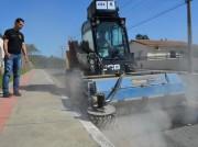 Limpeza urbana ganha reforço em Morro da Fumaça
