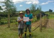 Mais um agricultor de Maracajá recebe selo de produção orgânica