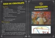 Receitas culinárias e cartilhas educativas integram livro virtual da Satc