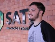 Ex-aluno do técnico em Química da Satc vai para França