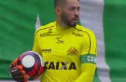 Goleiro Luiz e duvida para o jogo contra o ABC
