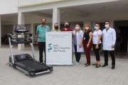 Mampituba realiza doação de esteira ergométrica ao Asilo São Vicente de Paulo