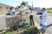 Mascote Maraquinha dá exemplo para humanos em Maracajá