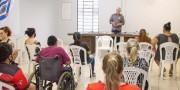 Lodetti discute necessidades especiais de pessoas com deficiência