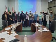 Servidores da Saúde recebem moção de aplausos em Forquilhinha