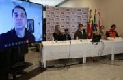 Bolsonaro garante apoio para reconstrução de estruturas danificadas em SC