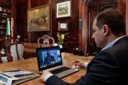 Governador participa de webconferência com ministro da Saúde sobre vacinas