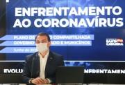 Governador Carlos Moisés testa positivo para novo coronavírus (covid-19(