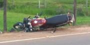 Motociclista morre após colidir com Fiat Strada em Vila São José na ICR-357