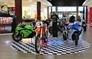 Criciúma Shopping abre o ano com exposição de motos e equipamentos para motociclistas