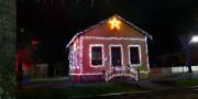 Museu do Agente Ferroviário ganha iluminação especial para o Doce Natal