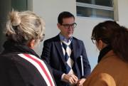 Prefeito de Maracajá instala gabinete no Departamento de Saúde