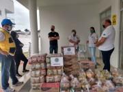 Grupo de Enfrentamento Social ao covid-19 recebe doação de 500kg de alimentos