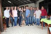 Líderes do PSD são recepcionados por tucanos e progressistas